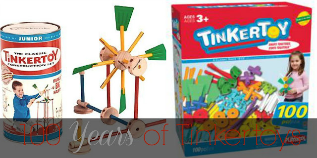 100 Years of Tinkertoys #Knex