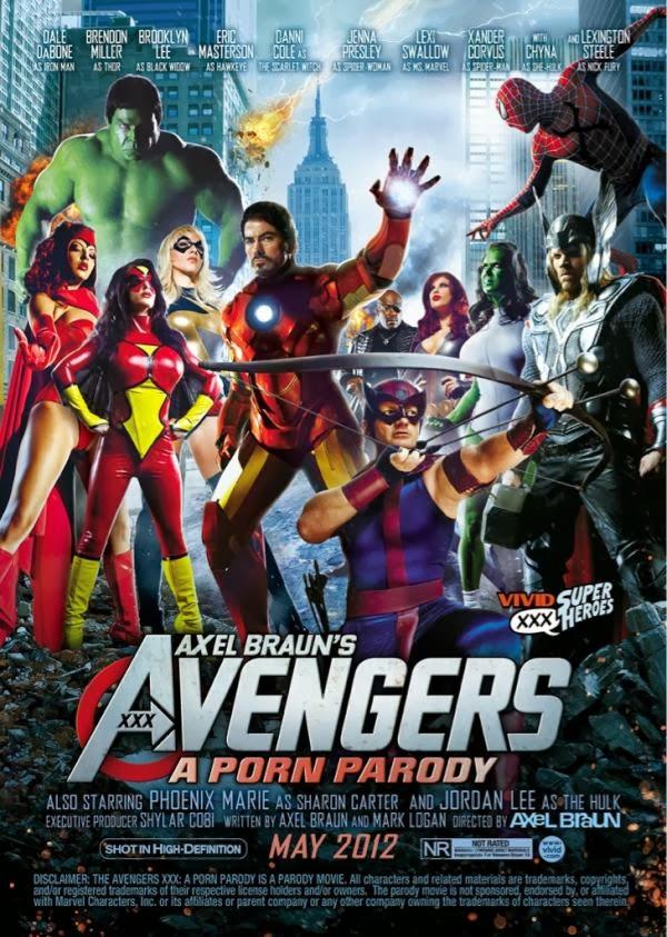 Biệt đội báo thù XXX - The Avengers XXX - A Porn Parody