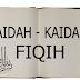 Kitab-kitab Qaidah Fiqhiyah Madzhab Syafi'i