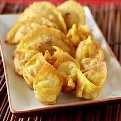 crispy chinese fried wonton and shui jiao dumplings recipe