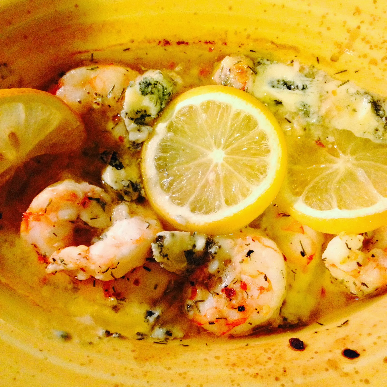 Oregonzola Shrimp Bake