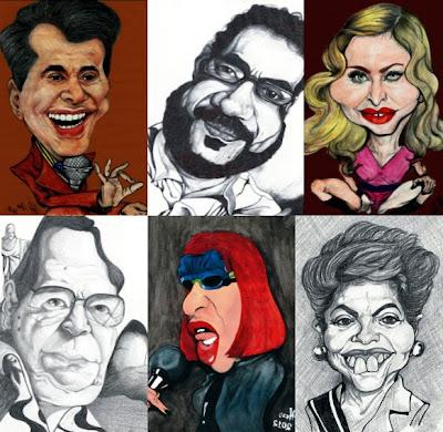 Caricaturas por Wal Alves