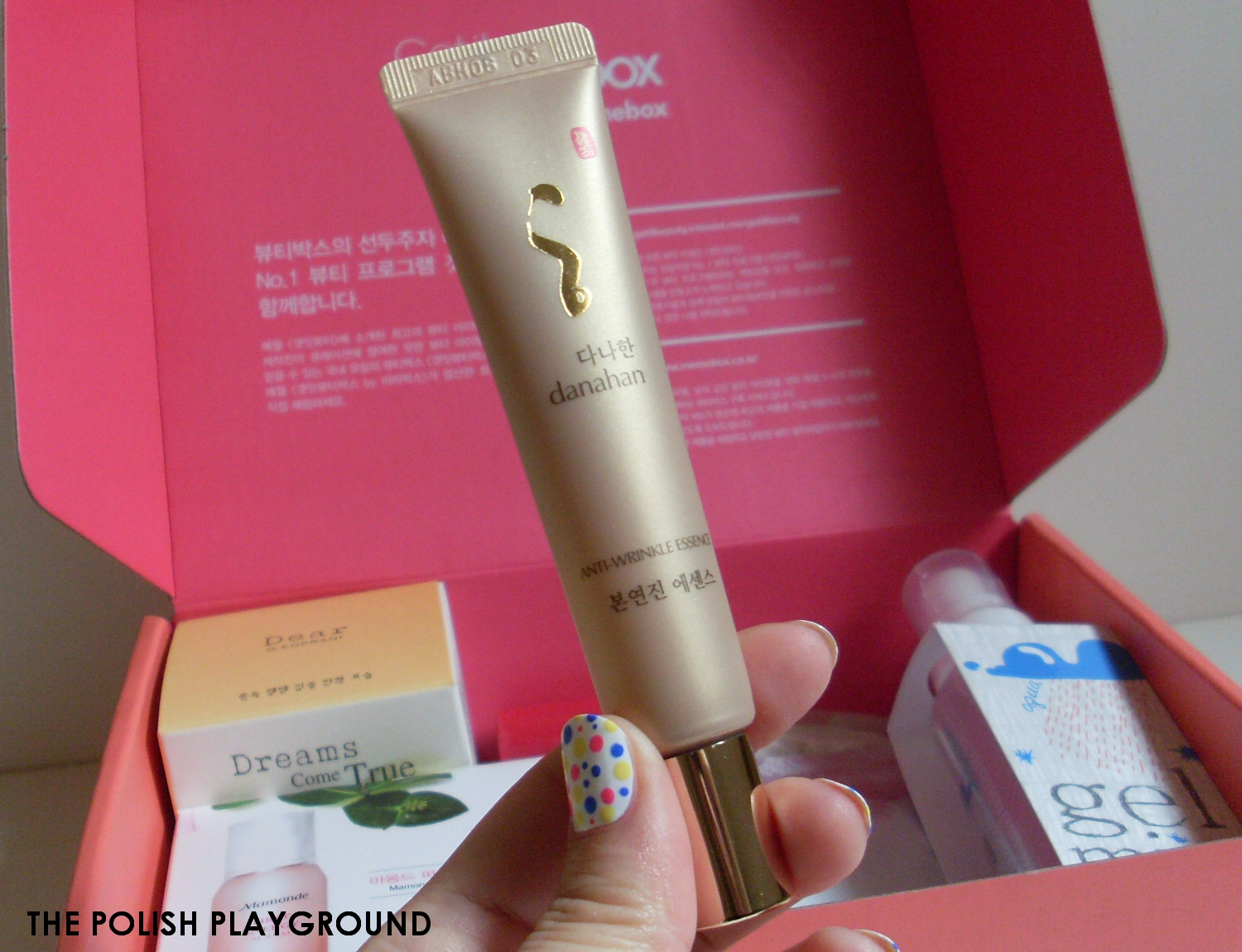 Memebox Luckybox #1 Unboxing and First Impressions - Danahan Bon Yeon Jin Essence