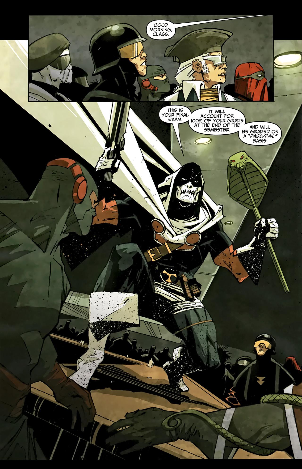Read online Taskmaster (2010) comic -  Issue #1 - 13