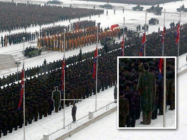 Humanoides alienígenas asistieron al funeral d Jong 2? Get