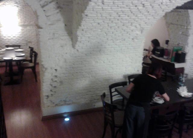 Restaurante La Tavernetta, comedor