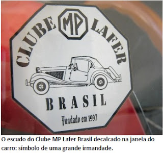 O escudo do Clube MP Lafer Brasil.