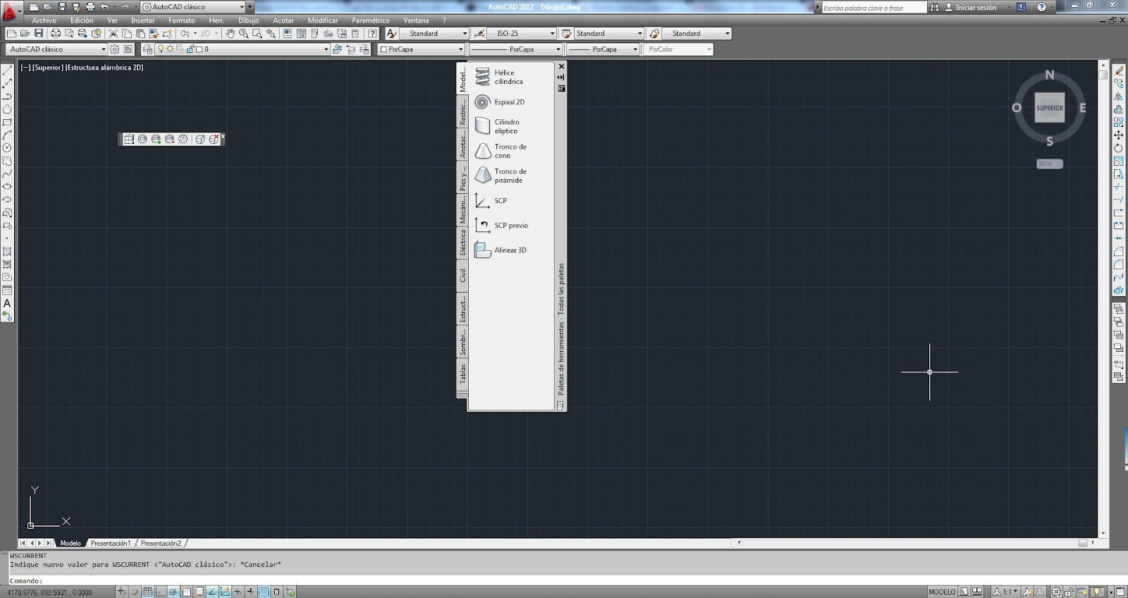 Aytuto english change autocad interface as a classic from the 2009 version of autocad and subsequent interface work being installed by default when the program is version ribbon which also use other programs baditri Images