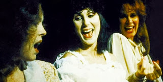 Cher with Karen Black and Sandy Dennis in 'Come Back To The % & Dime, Jimmy Dean, Jimmy Dean'