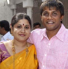 Duniya Vijay with Wife