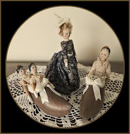 Peg Wooden Dolls