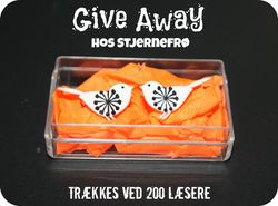 Give Away hos Stjernefr