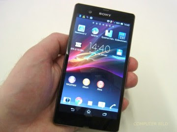 xperia z review front picture