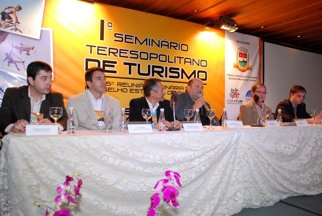 Seminário Teresopolitano de Turismo: busca da profissionalização do setor para definir Teresópolis como destino indutor do turismo