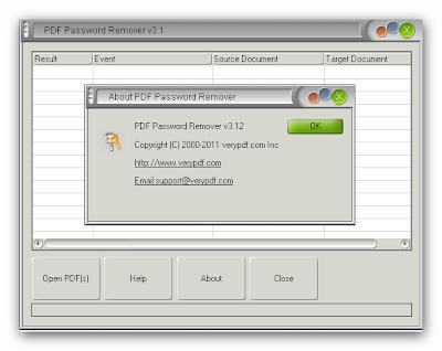 Pdf Password Remover Blogspot