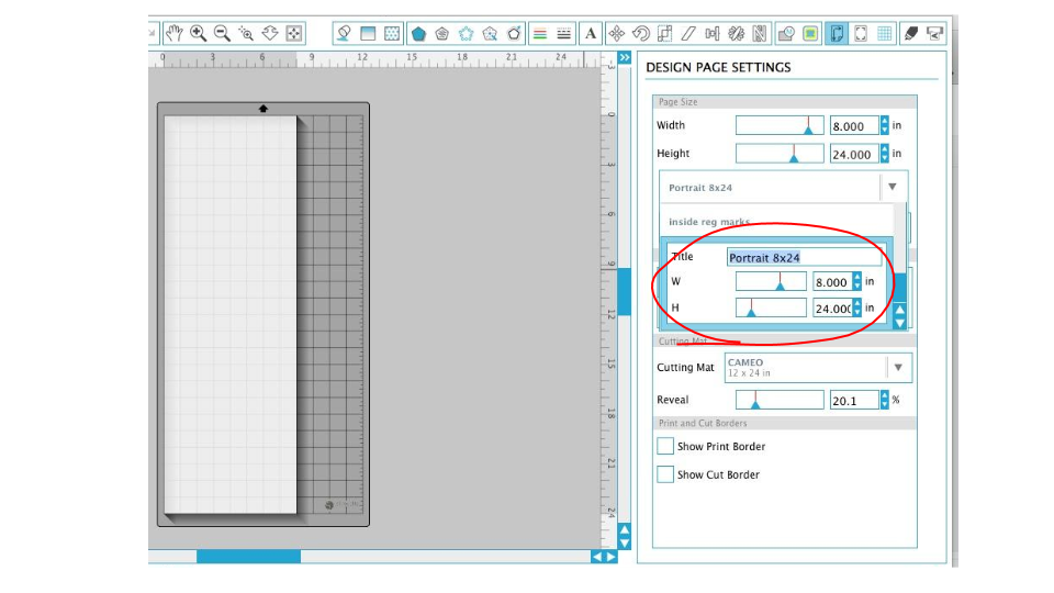 How To Add Custom Page Material Sizes In Silhouette Studio