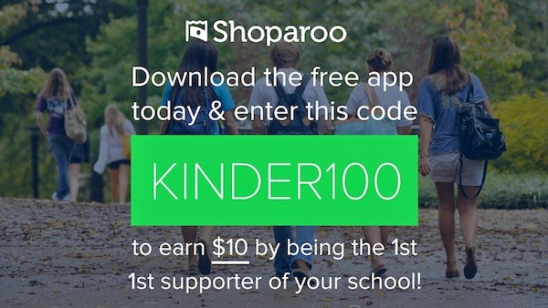 Painlessly earn CASH for your school with the new and improved Shoparoo app!