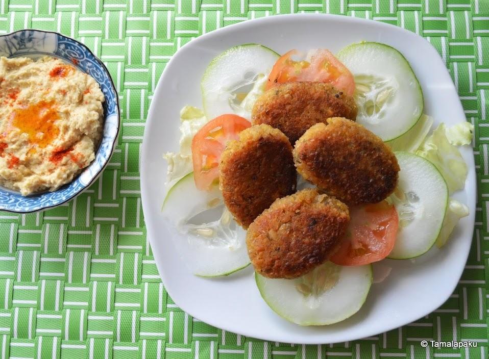 Falafel ~ The Healthier Way