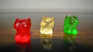 Gummy Bear heads bitten off