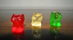 Gummy Bear heads bitten off