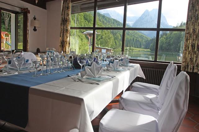 Hochzeit im Jagdstüberl - Seehaus am Riessersee