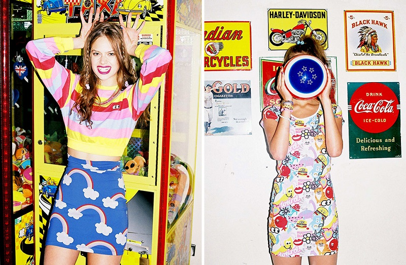 Nasty Gal x Lazy Oaf, lookbook, spring, summer, Lazy Oaf,