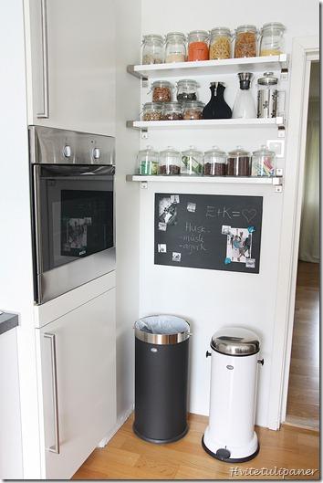 Ikea hack pintar la pizarra magn tica de ikea - Pizarra para cocina ...