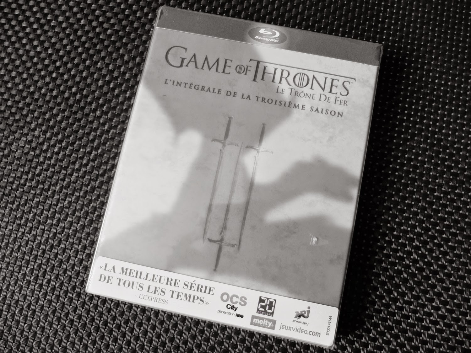Saison 3 Games Of Thrones jeu-concours HBO  Trone de fer blu-ray