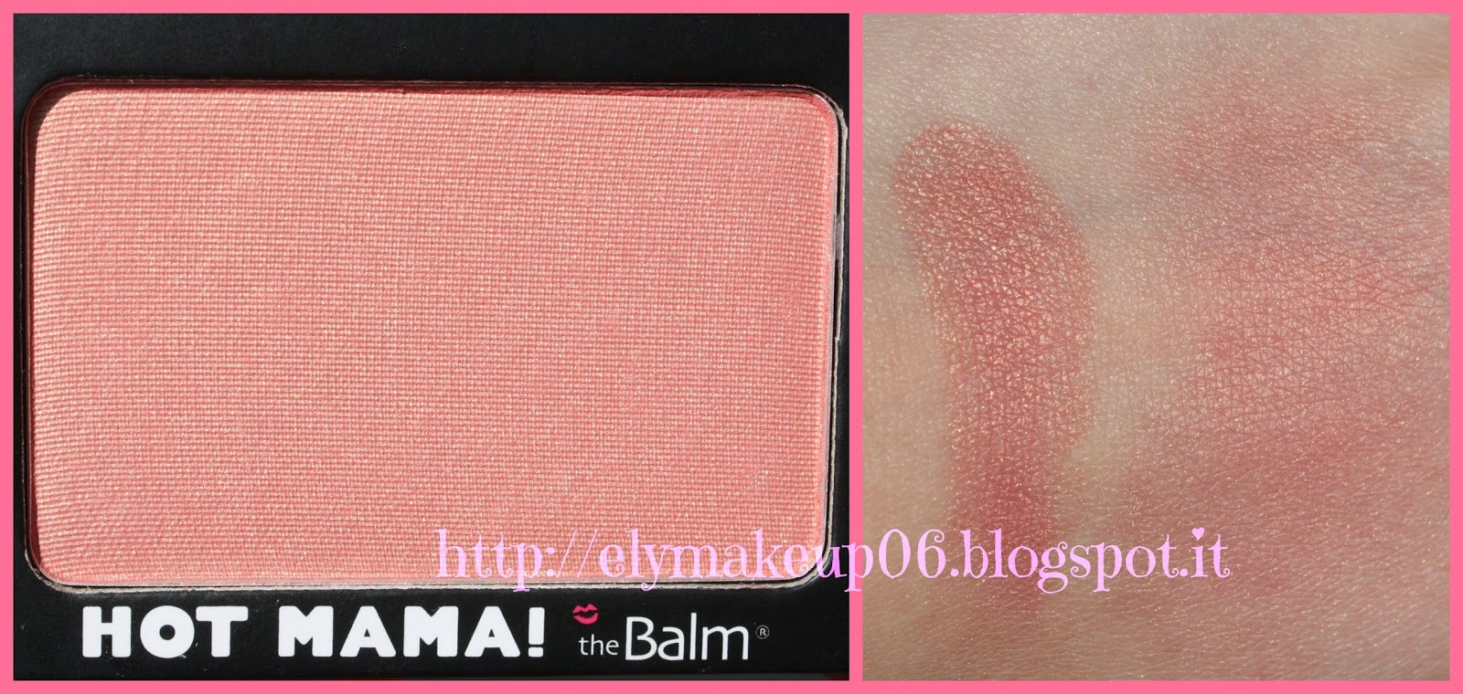 Elymakeup swatch e review blush hot mama e fratboy the balm - Riflessi in uno specchio scuro ...