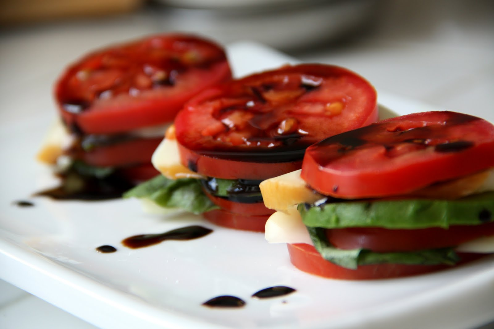 Tomato Salad With Fresh Herbs And A Balsamic Reduction ...