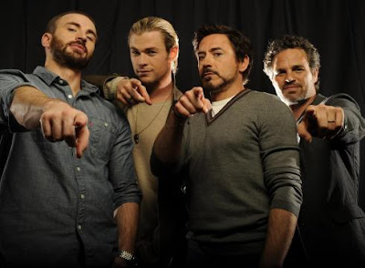 Thor Iron Man Hulk Captain America Avengers