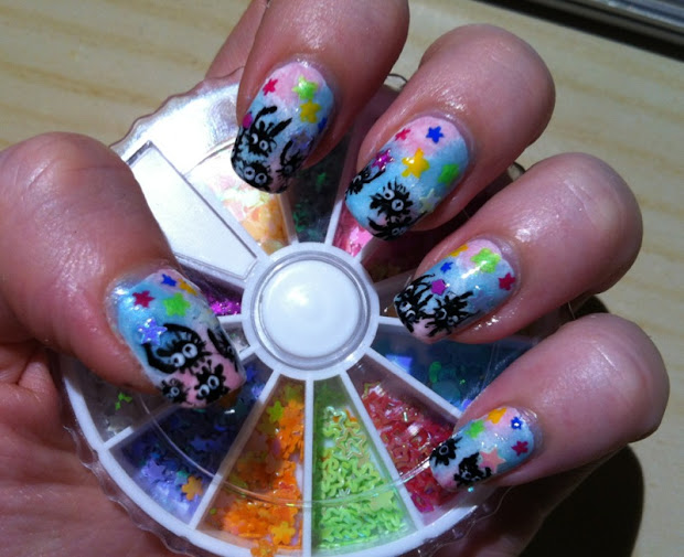 nerdy nails soot sprites