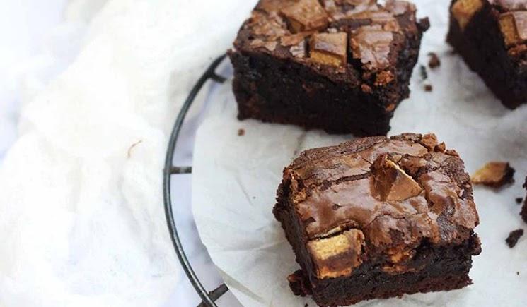 Resep Membuat Brownies Kit Kat