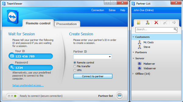teamviewer 6 free  for windows 7 32bit full version