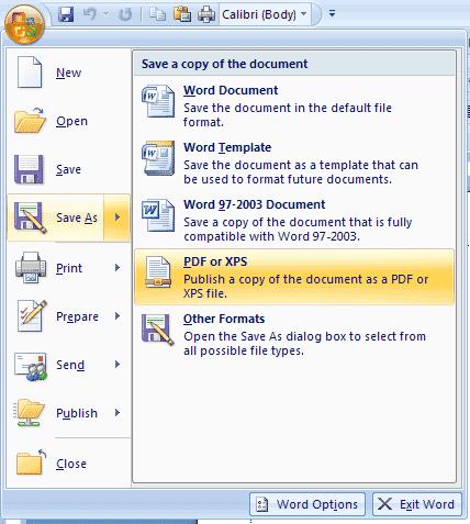 Cara Kedua dengan menginstall CutePDF yang merupakan software ...