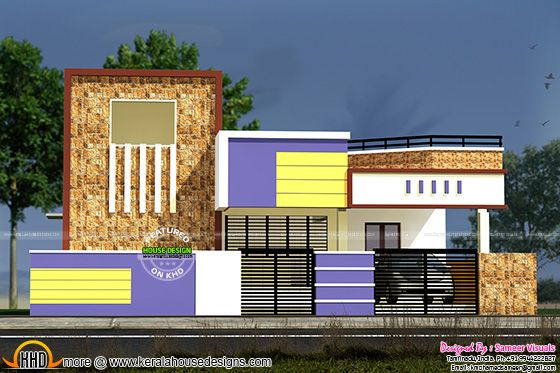 Low Budget South Indian House Kerala Home Design And