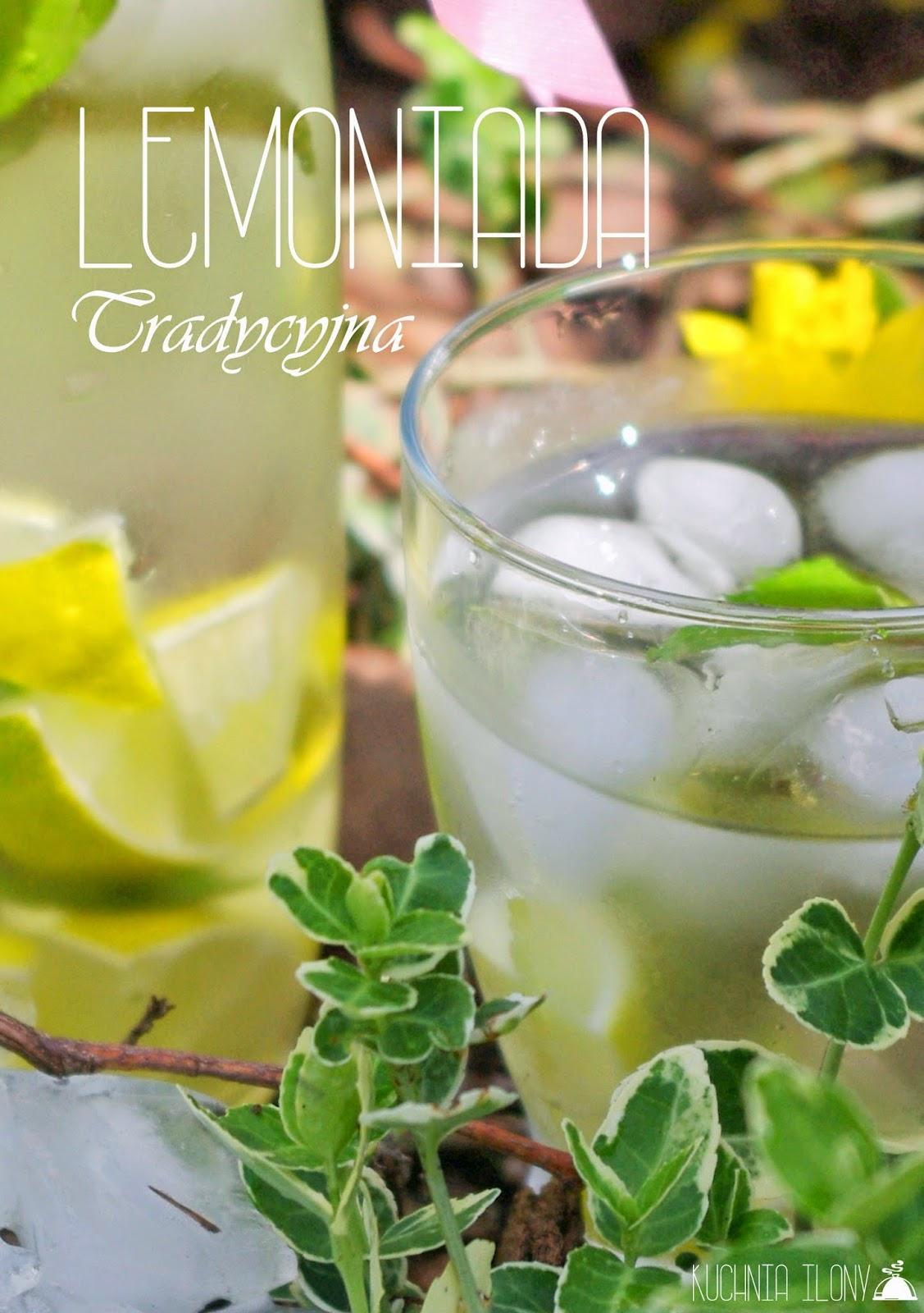 lemoniada tradycyjna, lemoniada klasyczna, lemoniada napój