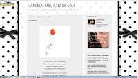 Marcela, meu raio de sol!