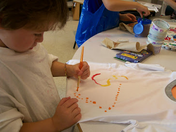Dot Day T Shirt Painting