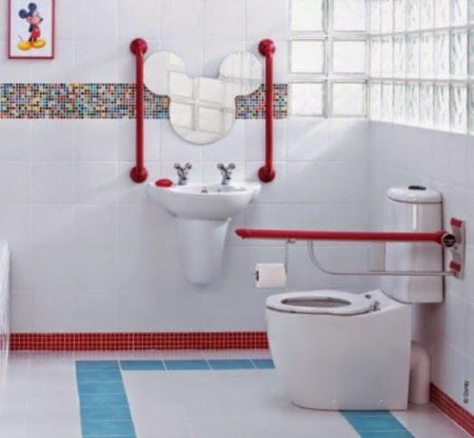 Ideas de Diseño de Baños para Niños