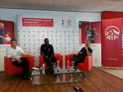 Ardiles discusses football development