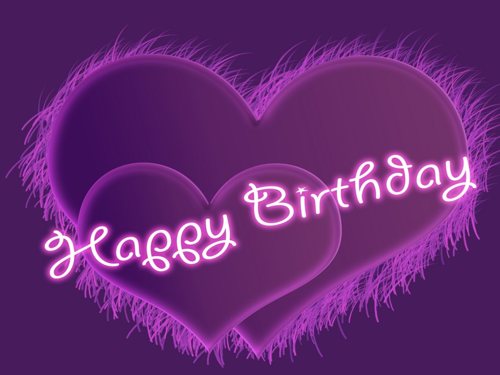 Happy Birthday Background Wallpaper Purple Purple Happy Birthday Purple