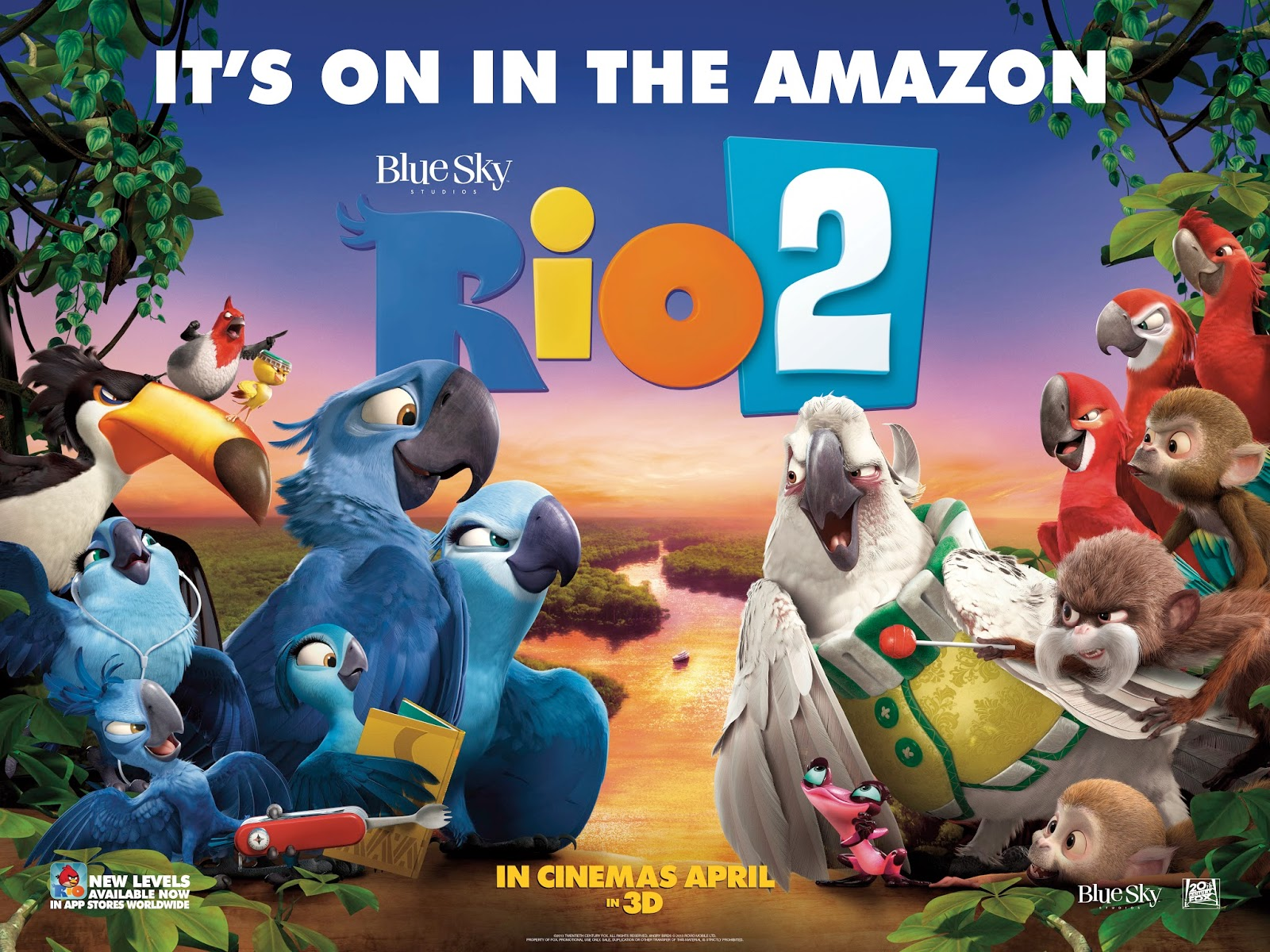 rio 2 full movie 2014 english : alien vs army full movie