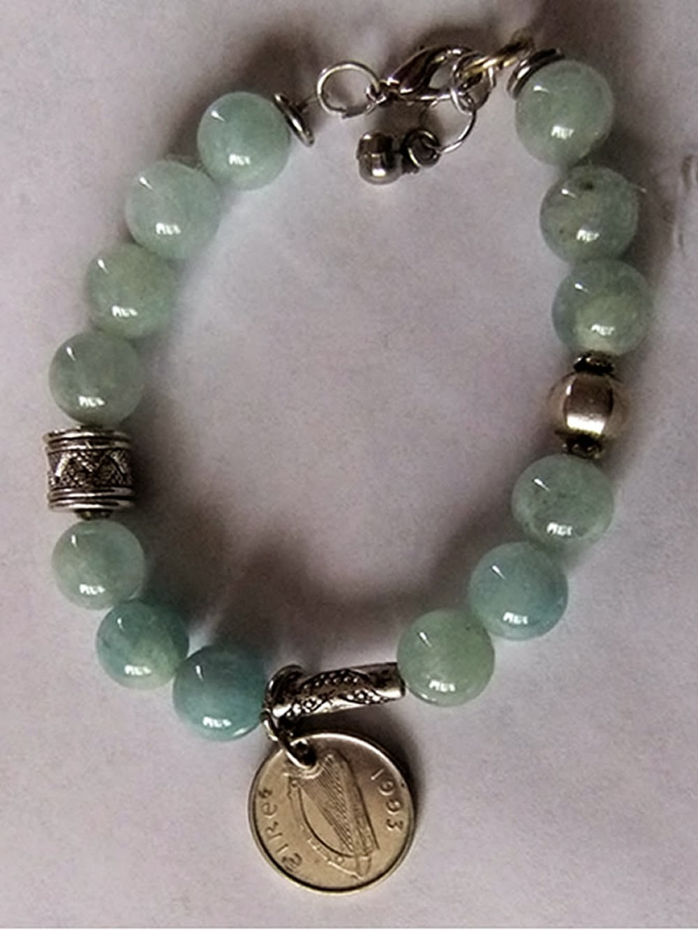 Celtic Amazonite Bracelet