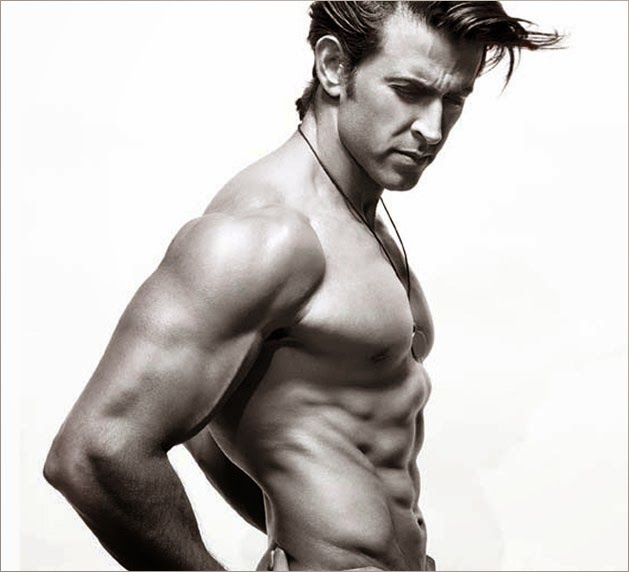 Celebrity's HD photos : Hrithik Roshan Hot Six Pack Body Photo