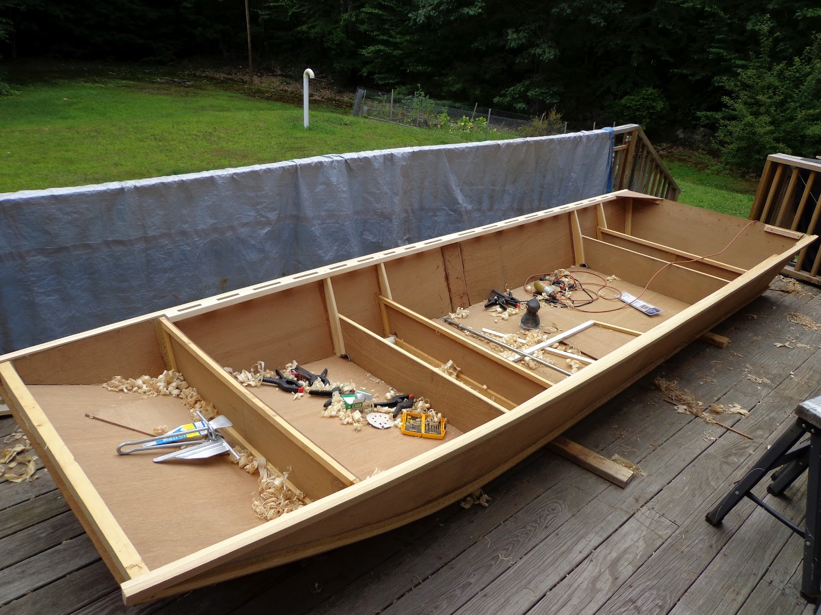 Found Boat building epoxy plywood | BRo Boat