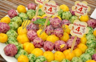 3 Renkli Patates Toplar Tarifi