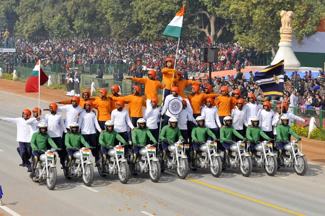 65th 26th January 2014 Republic Day Parade Live on YouTube