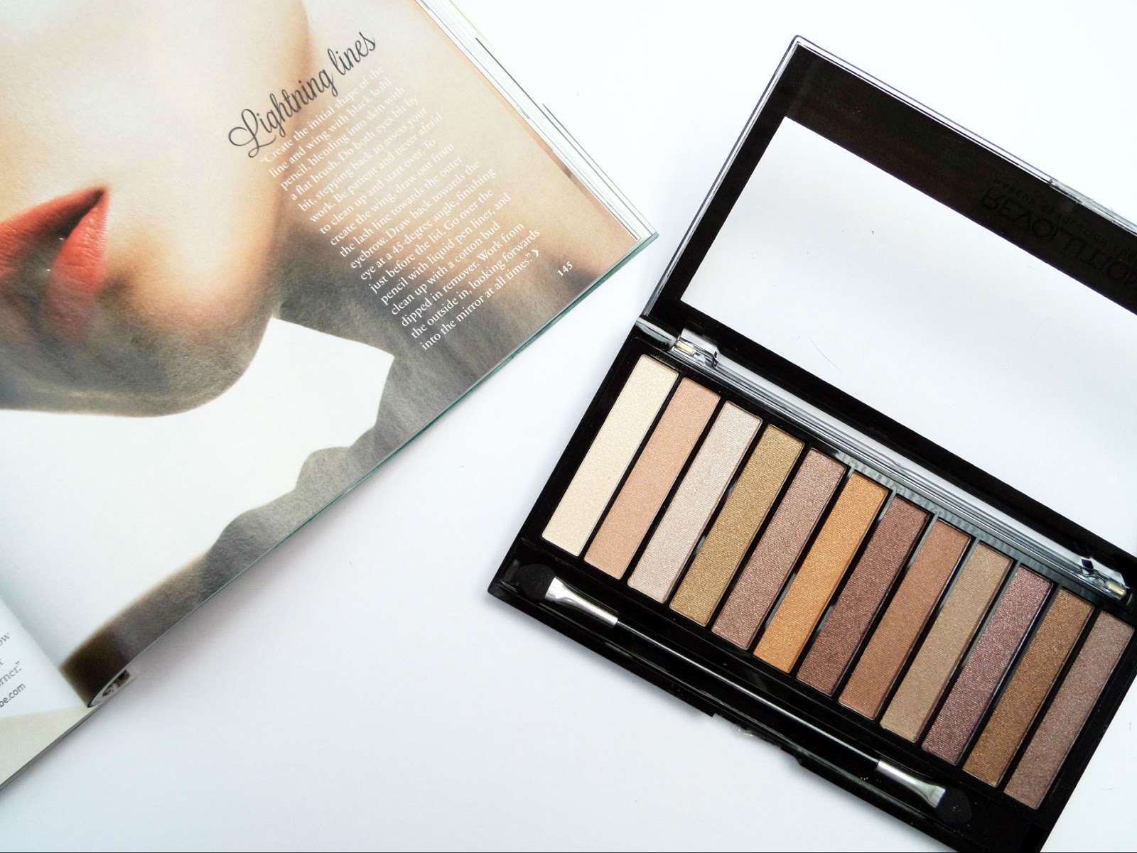 The Makeup Revolution Essential Shimmer Eyeshadow Palette