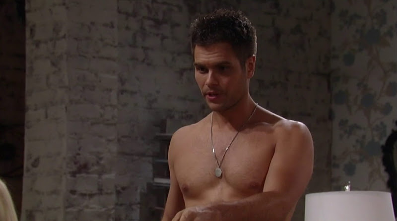 Erik Valdez Shirtless in General Hospital 20120703